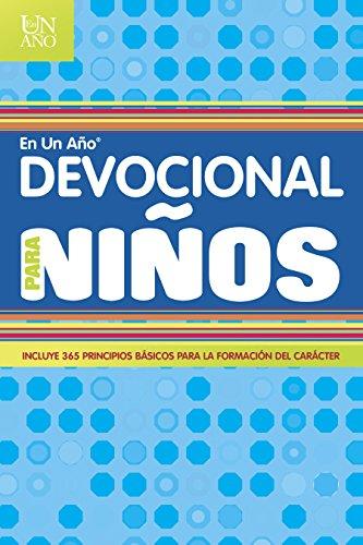 Devocional en un año para niños (One Year Book)
