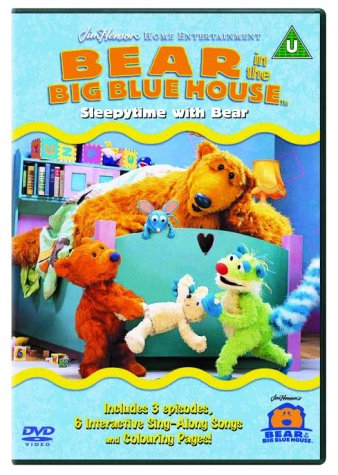 Bear In The Big Blue House: Sleepytime With Bear [DVD]