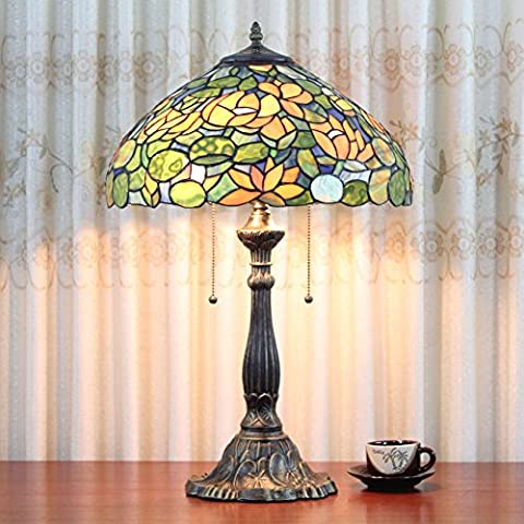 16 pollici europea Lotus lampada da tavolo lampada da letto