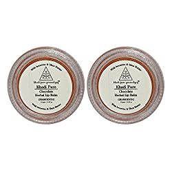 Khadi Pure Herbal Chocolate Lip Balm - 10g (Set of 2)