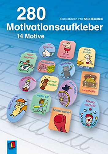 280 Motivationsaufkleber 14 Motive