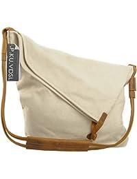 Canvas Tasche,P.KU.VDSLCanvas Umhängetasche Damen Schultertasche Crossbody Bag Mädchen Shoulder bag Messenger Bag Shopper Bag Handbags für Schule Reisen Arbeit und Einkäufe