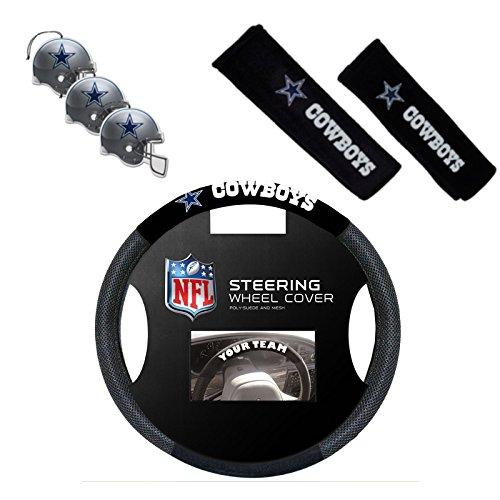 Offizielles NFL National Football League Fan Shop Authentic Auto Zubehör Bundle, Dallas Cowboys (Auto-zubehör Dallas)