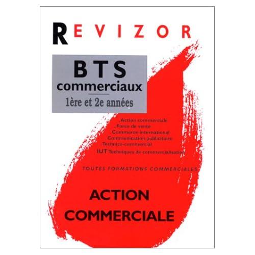 Action commerciale, BTS commerciaux 1re et 2e années