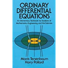 Ordinary Differential Equations (Dover Books on Mathematics)