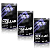 ESN Micellar Casein, Strawberry, 3er Pack (3 x 1000g)