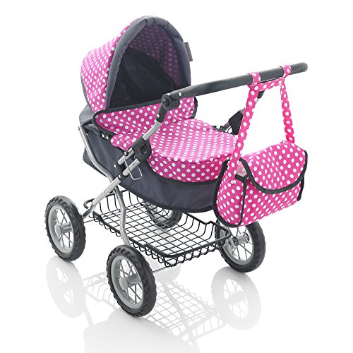 51XD7UiHwsL - BEST BUY #1 Molly Dolly Deluxe Dolls Pram Reviews and price compare uk