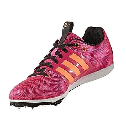 Spikes course adidas Allroundstar junior, Rose,
