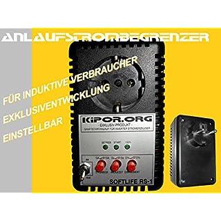 Anlaufstrombegrenzer für portable Stromerzeuger/ Generatoren wir Kipor, FME , Atima etc.,Caravaning, Camping, Wohnmobil, Boot, Baustelle, Event, Festival