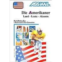 Die Amerikaner (1 livre + coffret de 3 cassettes) (en allemand)