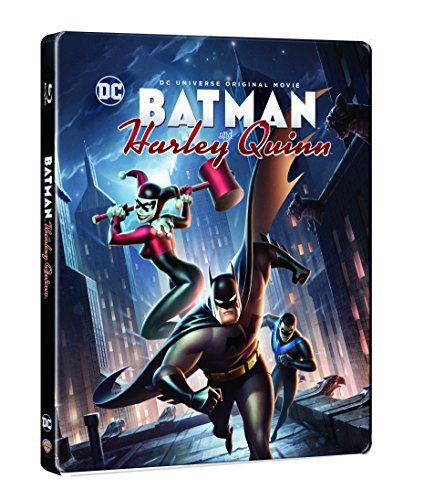 Image of Batman and Harley Quinn [Limited Edition Steelbook] [Blu-ray] [2017]