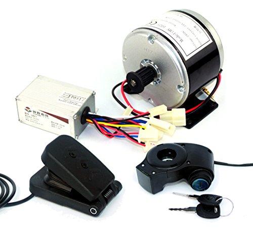 24V 250W Elektroroller Motor Elektrorad Riemenantrieb MY1016 High Speed Belt MOTOR 250W Elektroroller Umbausatz (pedal kit) (Riemenantrieb Motor)