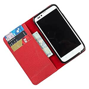 For Gionee Elife E7 - PU Leather Wallet Flip Case Cover
