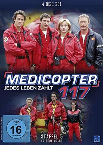 Medicopter 117, Staffel 5: Folge 47-60 [4 DVDs]