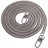 Gazechimp Partes de Bolsa Cadena Cuerda para Hombros Comoda Suave Colgante Reemplazo Atractiva Elegante de Plata