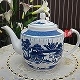 mqlerry Tetera de cerámica Tetera de cerámica, hervidor de cerámica de refrigeración, Cuatro hervidores