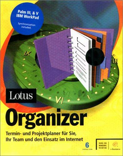 Lotus Organizer 6.0 CD W98+95,NT Termin- u. Projektplaner