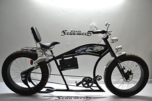 Cicli Ferrareis BICI Cruiser 24 Custom Bike BICICLETTA Harley PERSONALIZZABILE