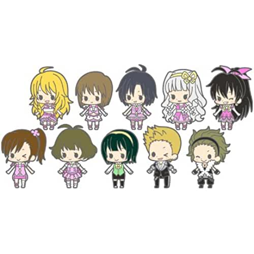 kawaii make my day idol master Idol Master Rubber Strap Collection THE Idol Master stage2 (character strap) BOX (japan import)