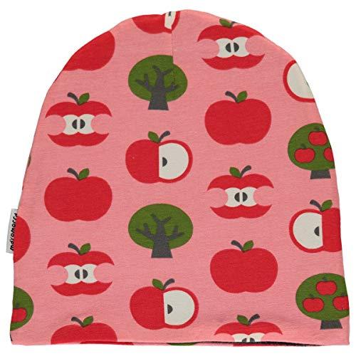 Maxomorra Mädchen Beanie Mütze gefüttert Velour Apple (44/46)