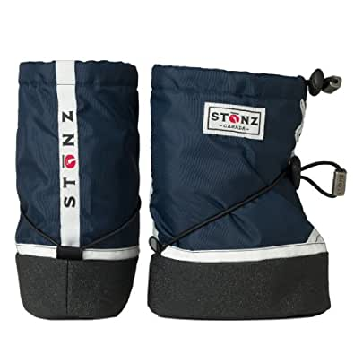 Stonz Boys Trainer - Navy Snow Boots Blue Blau (Navy) Size: M