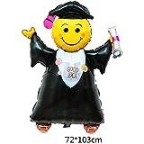 Monkey Home 101,6cm grad super Shape balloon Graduation party balloon Decoration Supplies