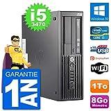 HP PC Workstation Z220 SFF Core i5-3470 RAM 8Go Disque Dur 1To Windows 10 WiFi (Reconditionné)