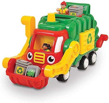 Wow toys - MTWT01018 - Véhicule miniature - Le Camion poubelle | Porter-résistance