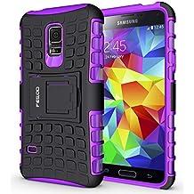 Custodia S5 mini,Pegoo Cover Galaxy S5 mini Ultra Slim armatura