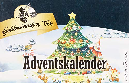 Goldmännchen-Tee Adventskalender