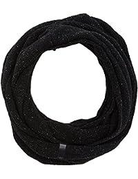 Wrangler Men's Neppy Snood Scarf, Black (Black 01), One Size (Manufacturer Size: 88/88)