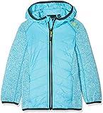 CMP Mädchen Girl Fix Hood Hybrid Jacket Jacke, Ocean, 140