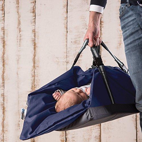 Baby Multifunktions Tasche 5 in 1   geeignet zum Spielen, Wickeln, Pucken, Schlafen und als Baby Tragetasche oder Einschlafhilfe - zum, Wickeln, und, Tragetasche, Tasche, Spielen, Schubidoo, schlafen, Pucken, oder, Multifunktions, geeignet, einschlafhilfe, blau, bag, Babys, baby einschlafhilfen, Baby, Als
