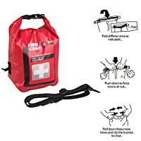 LONTG Waterproof First Aid Kit Bag Medical Bag Travel Outdoor Medicine Bag Storage Bag Container Empty Emergency Kit Case Survival Bag With Shoulder Strap For Home Car Hiking Camping Swimming Boating