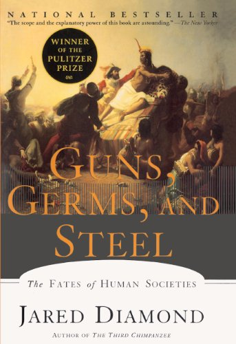 Book cover for Guns, Germs, and Steel