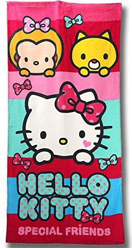 Hello Kitty asciugamano TELO MARE 70x 140cm (u284)