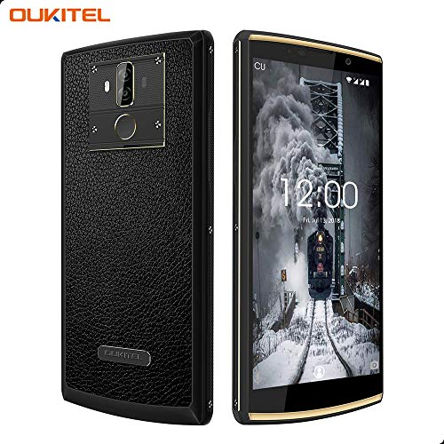 10000mAh Smartphone Ohne Vertrag, Oukitel K7 Power 4G Smartphone 6,0 Zoll, Android 8.1 Handy, MT60750T Octa Core 1.5GHz, 2GB+16GB Interner Speicher, Dual SIM, Fingerabdruck Sensor-Schwarz 3g Mobile Video Support