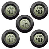 EEEKit Paquet de 5 Hygromètre Thermomètre Moniteur LCD Numérique Jauge d'humidité extérieure...