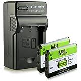 Chargeur + 2x Batterie EN-EL19 pour Nikon Coolpix S32 S33 S100 S2500 S2550 S2600 S2700 S2750 S2800 S2900 S3100 S3200 S3300 S3500 S3600 S3700 S4100 S4150 S4200 S4300 S5200 S5300