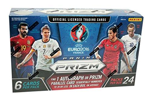 2016 Panini UEFA Euro Prizm Fußball (Soccer) Hobby Box