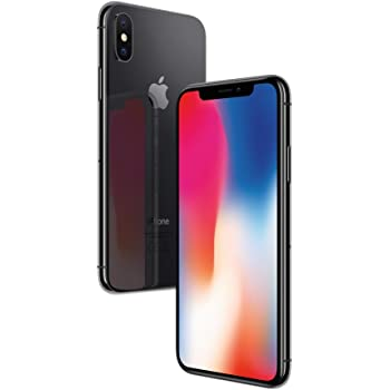 "Apple MQAF2ZD/A iPhone X  - Smartphone 14.7 cm (5.8"") (256 GB, 12 MP, iOS, 11, SIM singola), Grigio (Space Grey)"