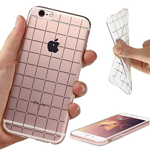 Urcover® iPhone 6 , 6-S Hülle Diamant Stripes Case Handyhülle für Apple iPhone 6/6s (4,7 Zoll) Strass Glizer Schutzhülle Cover Smartphone Zubehör Tasche Crystal Schale Variante 2
