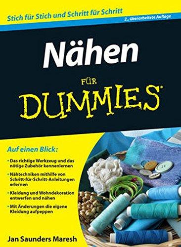 Nähen für Dummies Buch-Cover