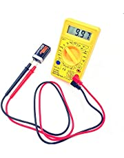 OFIXO Digital Multimeter LCD AC DC Measuring Voltage Current DT830D Multicolor
