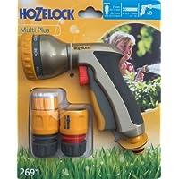 Hozelock Multi Plus Rose in metallo testa spruzzatore pistola a spruzzo di alta qualità pistola 2691Aqua Stop & Fine