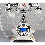 Telefon antiken europäischen Stil Retro ländliche Art und Weise kreativer Wohnzimmer Home Phone Festnetzanschluss ( farbe : # 7 )