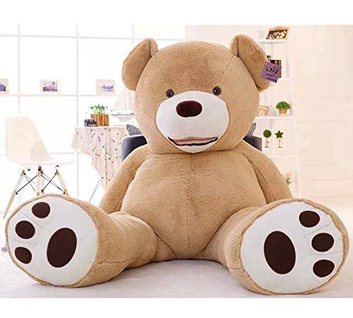 Preisvergleich Produktbild Hugme Riesen Teddybär XXL 200 cm groß samtig weich Kuscheltier für Erwachsene und Kinder