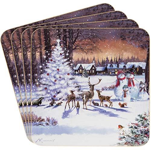 Leonardo Untersetzer Magic of Christmas Scene 4 Stück Leonardo-portfolio
