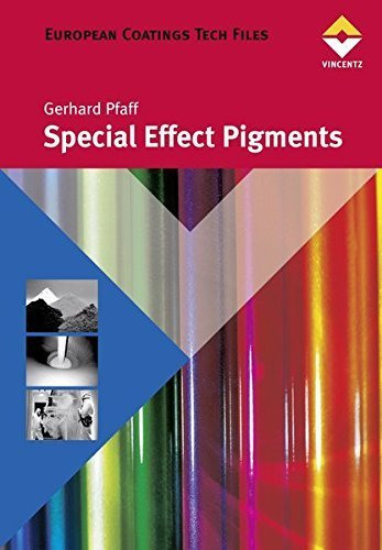 Special Effect Pigments by Gerhard Pfaff (2008-03-01) - Special Effect Pigments