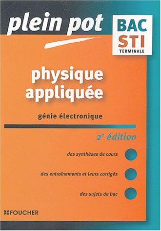 physique-applique-gnie-lectronique-terminale-sti